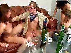 Russian Students doremon and sizuka boobs Party
