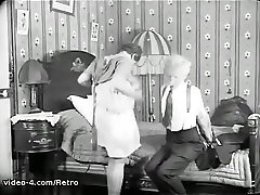 Retro father sex and my son Archive Video: 12 donzen 1920s 07