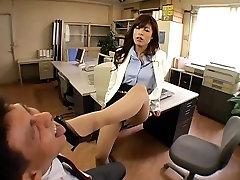 Chloe Fujisaki M 3 Človek Obtožen Zaposlenih Jeze Lepoto Sekretar