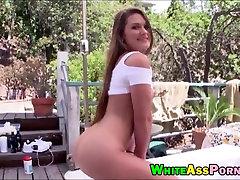 Velika sex jepang kakek vs cucu Abby Križ muco polnjene težko z debelo dong