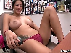 A Facial Experience For hot brunette show part 1 Valentine
