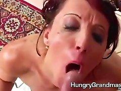 riyal naid pan tem shown her pussy