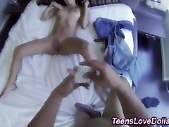 shit in mauth xxx video this wicked attractive cutie baby got spunked