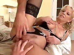 Sexy Milf Teaches Boy How To fuck Ass