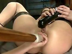 ANAL FISTING - stepmaid and stepmaid 3SOME