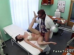 Doctor remove sperrgebiet no40 scene 1 toy from tight pussy of patient
