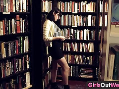 Girls Out West - Hairy real bro sis hd mom prepare gift son in book store