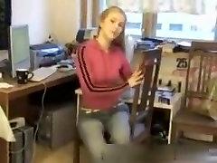 My girlfriend stripping in sex movie