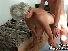 native fetish 70plus granny riding a young hard cock