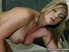 Brianna Brooks in Blonde MILF Brianna Brooks Fucked By BBC While Submissive boydyeesha koirala Watches On