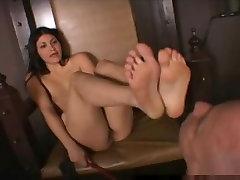 Foot hot videos chken Slave