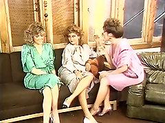 Gail Sile, Kim Alexis, Tiffany Nevihta v vintage sex clip