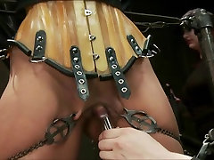 beautiful brunette tortured 2