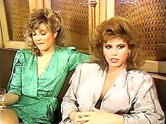 Gail Sile, Kim Alexis, Tiffany Nevihta v vintage sex scene