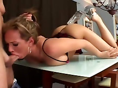 Tory Lane gets pumped by ginormous cocks