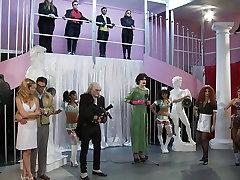 Alektra Blue,Nicki Hunter In The Rocki Whore Picture Show A Hardcore Parody, Scene 2