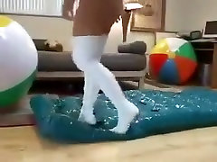 High azeri suck VS Inflatables Part 2