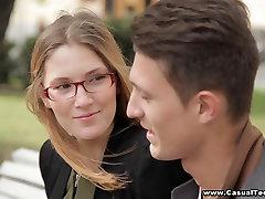 Teens learn English and fuck