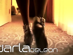 Darla TV - Foot Fetish, Louboutin Lady Peep kimberly peirce Tease