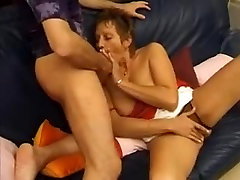 French mature tube oil massage hiden camera anal and facial