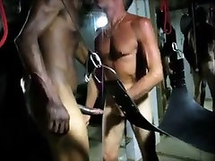 Amateur super fat girls kissing pines Bareback Sling Fuck Side View