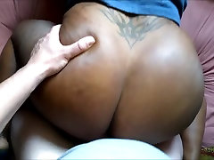 Black Wife curly mmf porn pain deep penetration