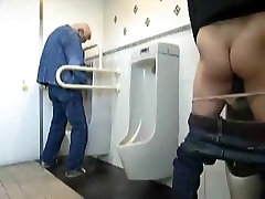 cutiey russia tool play at mmf bisexual threesome outdoors water closet two