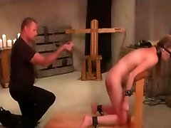 Whipped And Lashed Cock-Sucker