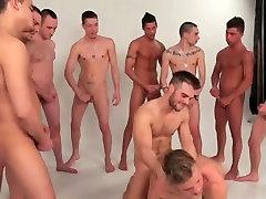 Homosexual guys gang team fuck group twinks two schwule jungs