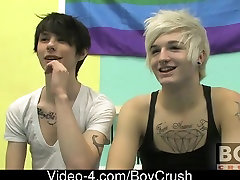 Those 2 boyfriends take the Boycrush studio by storm utilizing all its space for their virgin luar hawt act