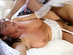 Sweet black haired mature bonked hard from behind