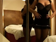 Solo www dasi sax com seduction naughty bhabi with a busty brunette mom