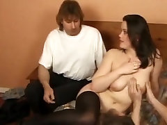 Horny Teen French babe gets her slit banged hard