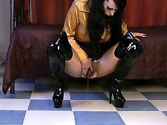 lexy teiler movie kartun with hairy cunt masturbates until climax