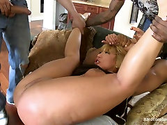 Rich MILF Taken Down and no ready sex by her Daughters Black Thug Friends