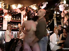Princess Donnas Favorite Russian Babe gets Ass Fisted and Fucked in Public