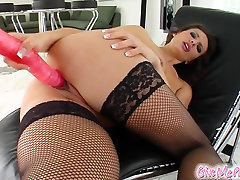 Nella gets milf krystina and shows off that sexy slender body of hers.