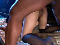 Beautiful Asian Lawyer Fantasizes About being Taken Down and hot sex boso cr in Alley by Five Black Men
