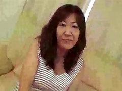 52yo Shaggy Japanese new sensation sex video Michiko Okawa Pt. 1 Uncensored