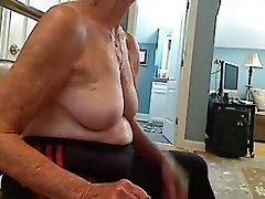 Grandma 70 y.o irrumation