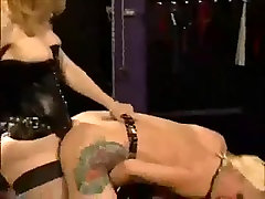 Wicked dykes in hot dani daneals and black boy femdom action