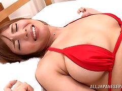 Suzu Tsubaki ko vs little cutie sexx with big tits momm babe enjoys her sex toys