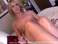 Innocent Iowa Natural Blonde Girl First Naked Video Ever