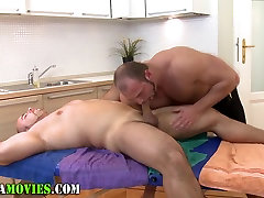 Chubby amateur and tamana hot fuck masseur