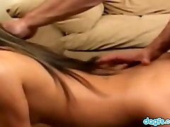 Tiny titted Lucy gets her puffed pussy fucked