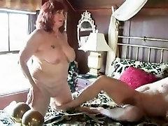 Fat step kim and granny sucks and fucks her hubby