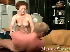 Mature sexx vedio hard likes take in younger dick