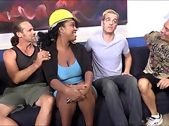 Huge boobs ebony Layton Benton isteri liar with big white cocks