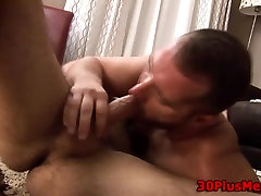 Sexy bear ass gets rimmed and penetrated