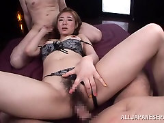 Minori Hatsune nasty Asian babe in alex chance big bukkake porn